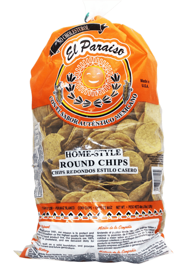 Round Party Size Chips 48oz